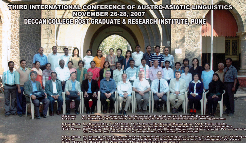 articipants at the 3rd International Conference on Austroasiatic Linguistics